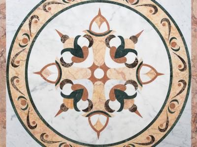 Мозаичное панно 0028Q   1000x1000